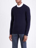 Tiger of Sweden Crew neck wool and cashmere-blend jumper