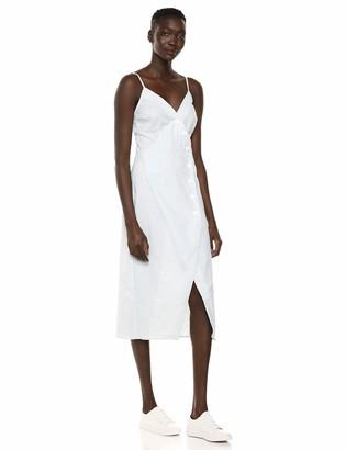The Fifth Label Women's Savannah Sleeveless Stripe Buttondown Midi Sheath Dress