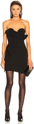 Carmen March CARMEN MARCH Strapless Mini Dress in Black   FWRD