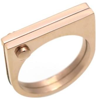 Opes Robur Rose Gold D Ring