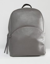 Pieces Textured Backpack