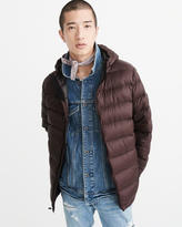 Abercrombie & Fitch Lightweight Hooded Puffer Jacket