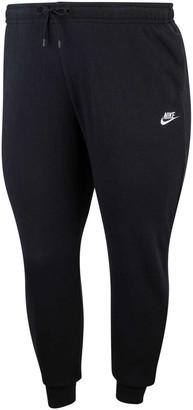 Nike Womens Sportswear Essentials Fleece Track Pants Plus