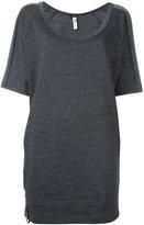 Diesel long sweatshirt - women - Cotton/Polyester - S