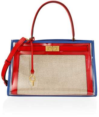 Tory Burch Lee Radziwill Colorblock Satchel