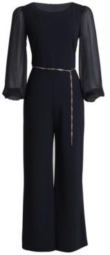 Connected Petite Chain Belt Jumpsuit