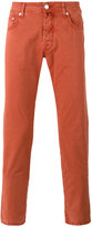 Jacob Cohen slim fit chinos - men - Cotton/Spandex/Elastane - 31