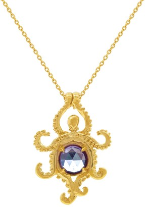 Lee Renee Octopus Alexandrite Necklace - Gold