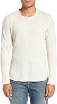 Current/Elliott Waffle Knit Thermal T-Shirt