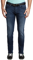 Hugo Boss Boss Green C-delaware Faded Slim Fit Jeans, Medium Blue