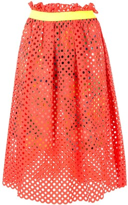 Kolor Mesh Layered Skirt