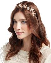 Jennifer Behr Layla Floral Leaf Bandeau Headband