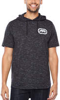Ecko Unlimited Unltd Short Sleeve Jersey Pattern Hoodie