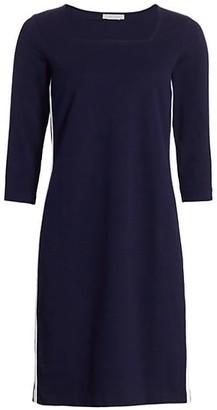 Joan Vass Racing Stripe Dress