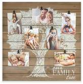 Fetco Home DecorTM Our Family Tree 7-Photo 5-Inch x 7-Inch Collage Frame in White