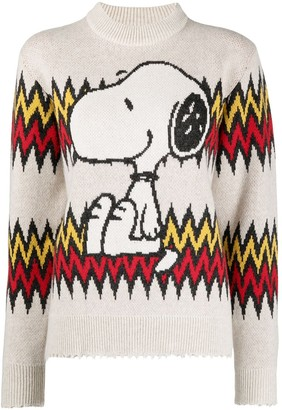 Alanui Snoopy knitted jumper