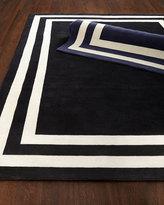 Ralph Lauren Home Fitzgerald Border Rug, 9' x 12'