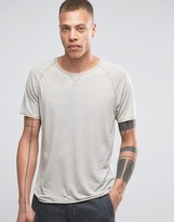 Selected Burn Out Wash Oversized T-shirt