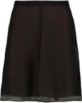 Alexander Wang Silk-georgette mini skirt