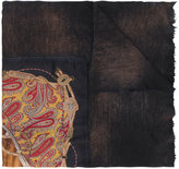 Avant Toi horse print scarf