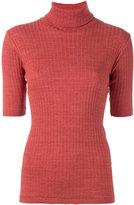 Libertine-Libertine roll-neck T-shirt