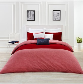 Lacoste L1212 Chili Pepper Full/Queen Duvet 3-Piece Set
