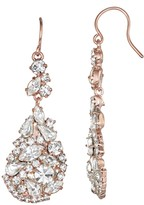 Unbranded Simulated Crystal Mixed Stone Teardrop Earrings