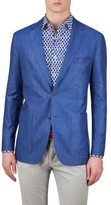 Bugatchi Men's Cotton & Linen Blazer