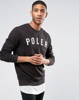 Poler Sweatshirt With Large Logo