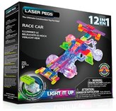 Laser Pegs 'Race Car' 12-In-1 Light-Up Toy Kit