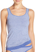 Nordstrom Stripe Two-Way Seamless Tank