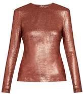 Zimmermann Karmic long-sleeved silk-blend top