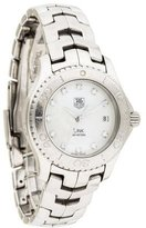 Tag Heuer Link Watch w/ Mother of Pearl Dial