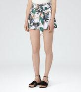 Reiss Arielana Printed Shorts