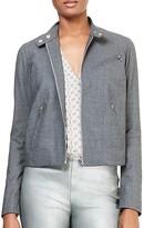 Lauren Ralph Lauren Stretch-Wool Moto Jacket