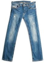 Diesel Little Boy's & Boy's Distressed Jeans