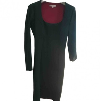 Green Cotton Non Signé / Unsigned Non Signe / Unsigned elasthane Dress for Women