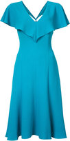 Black Halo bias cut dress - women - Polyamide/Spandex/Elastane - 6