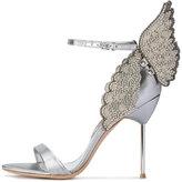 Sophia Webster Evangeline butterfly sandals - women - Leather/Polyester/Metallic Fibre - 36