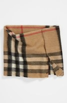 Burberry 'House Check' Cashmere Snood (Girls)