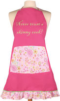 JCPenney Women's Never Trust a Skinny Cook Apron