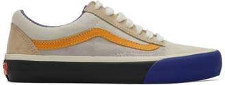 Vans Blue and Orange Old Skool Tlt LX Sneakers