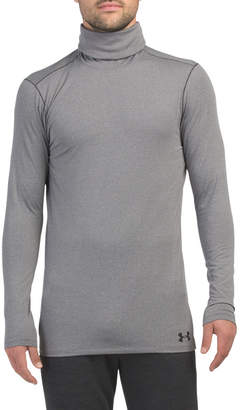 Fitted Coldgear Funnel Neck Top