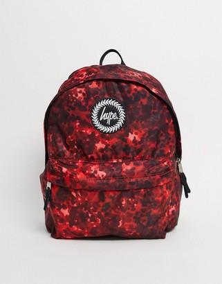 Hype backpack in stipple print