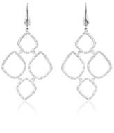 Monica Vinader Riva Diamond Cluster Drop Earrings