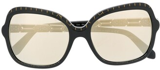 Bvlgari Oversized-Frame Sunglasses