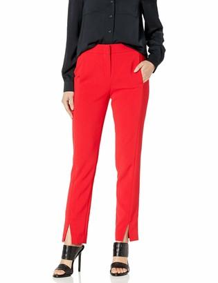 BCBGMAXAZRIA Women's Slim Leg Trouser