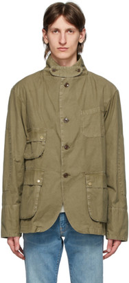 Barbour Tan Engineered Garments Edition Upland Casual Jacket