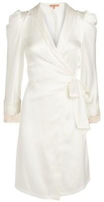 Ermanno Scervino Lace Trim Short Robe