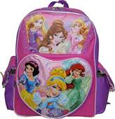 "Princess Disney Girl's Embossed 16"" School Backpack"